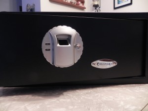 Barska Biometric Safe - Front Panel
