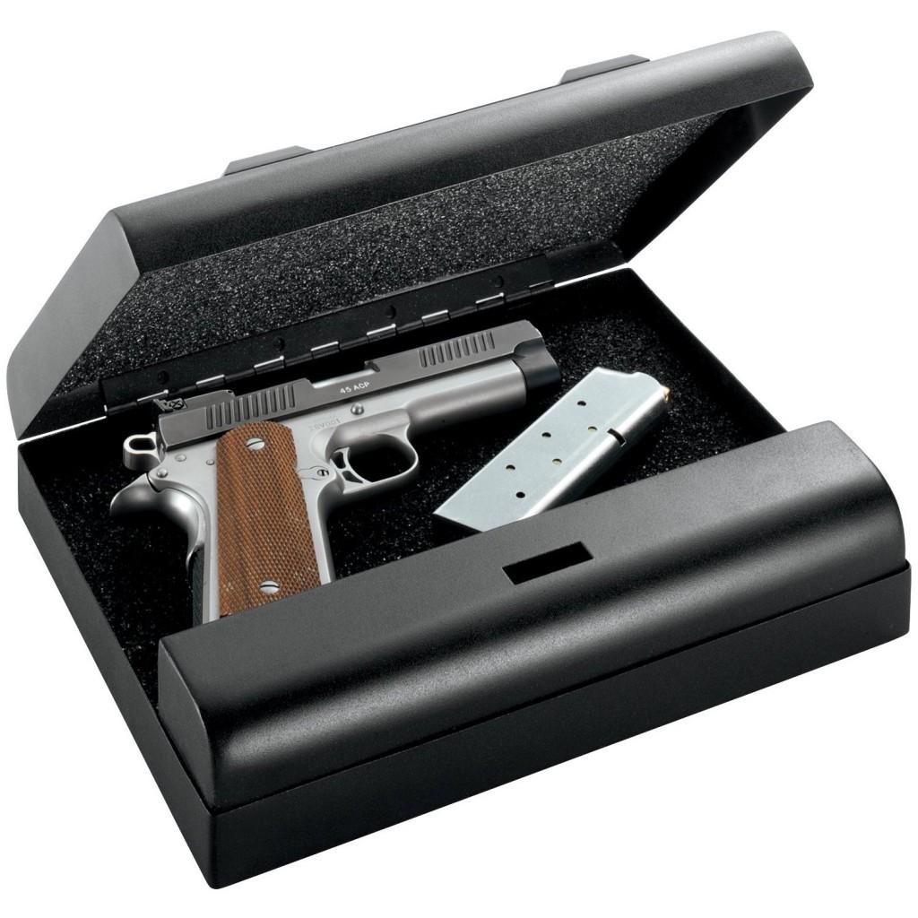 The GunVault MVB500 Biometric Pistol Gun Safe