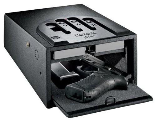Gunvault GVB1000 Mini-Vault Biometric Gun Safe